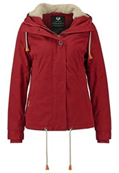 Ragwear Lynx Light Jacket Dark Henna Red