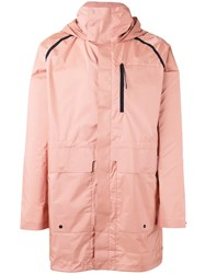 Puma Oversize Rain Coat Men Polyester S Pink Purple