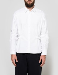J.W.Anderson Classic Fit Shirt W D Ring White