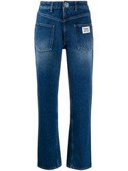 Burberry Back To Front Straight Leg Jeans 60
