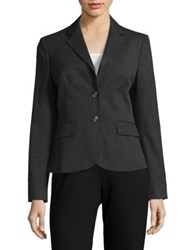 Jones New York Tailored Blazer Pewter Heather