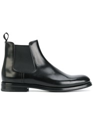 Church's Chelsea Boots Leather Rubber Black