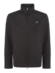 Gant Men's Mid Length Button Through Jacket Black
