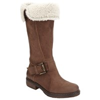 John Lewis Theodora Knee High Boots Brown