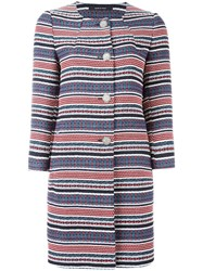 Tagliatore Striped Coat