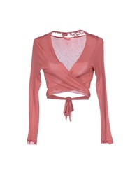 Fly Girl Knitwear Wrap Cardigans Women Pastel Pink