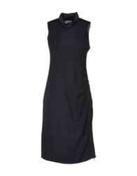 Stefano Mortari Short Dresses Black