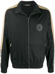 Roberto Cavalli Zipped Track Jacket Black