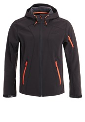 Icepeak Larkin Soft Shell Jacket Black
