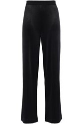 By Malene Birger Woman Ponte Wide Leg Pants Black