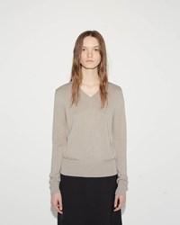 Jil Sander Back Panel Sweater Brown