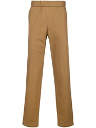 Chalayan Elastic Waist Trousers Brown