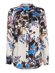 Part Two Floral Shirt Multi Coloured Multi Coloured