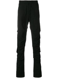 Lost And Found Rooms Pleated Trousers Cotton Spandex Elastane Black