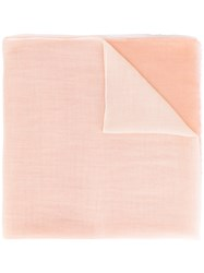 Agnona Degrade Scarf Women Polyester Cashmere One Size Nude Neutrals