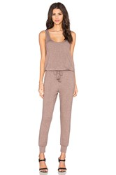 Riller And Fount Ali Sleeveless Jumpsuit Taupe