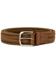Orciani Elast Belt Brown