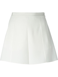 Emporio Armani High Waisted Shorts White