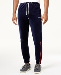Lrg Men's Lifted Velour Track Pants Patriot Blue