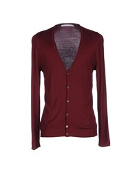 Relive Cardigans Maroon