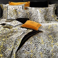 Roberto Cavalli Scamuskin Duvet Set Super King Yellow