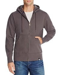 American Giant X Bloomingdale's Holiday Collection Classic Full Zip Hoodie Phantom Gray
