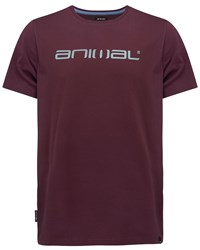Animal Graphic Tee Mauve