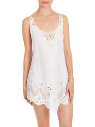 In Bloom Idlewild Cotton Chemise Ivory