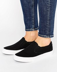 New Look Basic Canvas Trainer Black