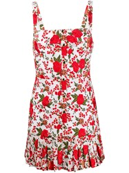 Alexis Rose Embroidered Dress 60