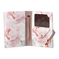 Ted Baker Travel Document Holder And Pen Thistle