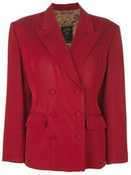 Jean Paul Gaultier Vintage Skirt Suit Red