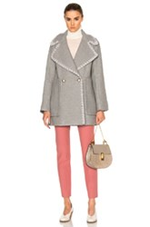 See By Chloe Wool Coat In Gray
