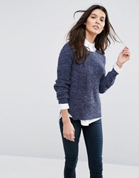 Blend She Nette Jumper Peacoat Blue