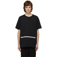 Ziggy Chen Black Words T Shirt
