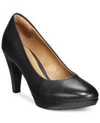 Clarks Collection Women's Brier Dolly Pumps Women's Shoes Black