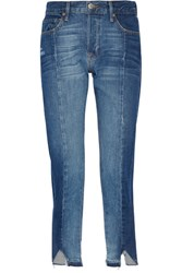 Frame Le Original Mix Boyfriend Jeans Mid Denim