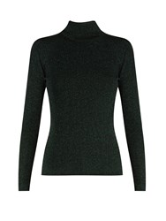 Diane Von Furstenberg Tess Sweater Dark Green
