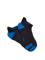 2Xu Race Vectr Ankle Socks Dark Grey