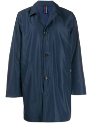 Paul Smith Ps Shell Raincoat Blue