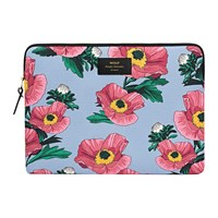 Wouf Flowers Laptop Case Pink