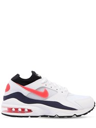 Nike Air Max 93 Sneakers White Red
