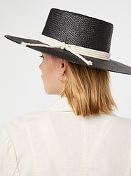 Free People Garden Grove Straw Boater By