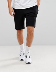 New Look Jersey Shorts In Black Black