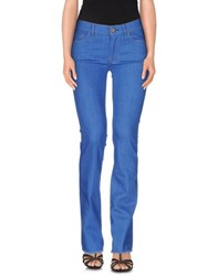 Pence Denim Denim Trousers Women Azure
