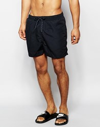 Selected Homme Classic Swim Shorts Black