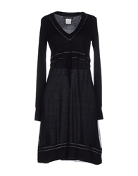 Roberta Scarpa Short Dresses Black