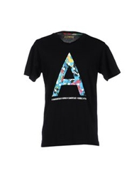Amaranto T Shirts Black
