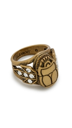 Lulu Frost Pharaoh Ring Gold