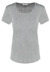 Opus Sedona Basic Tshirt Strong Grey